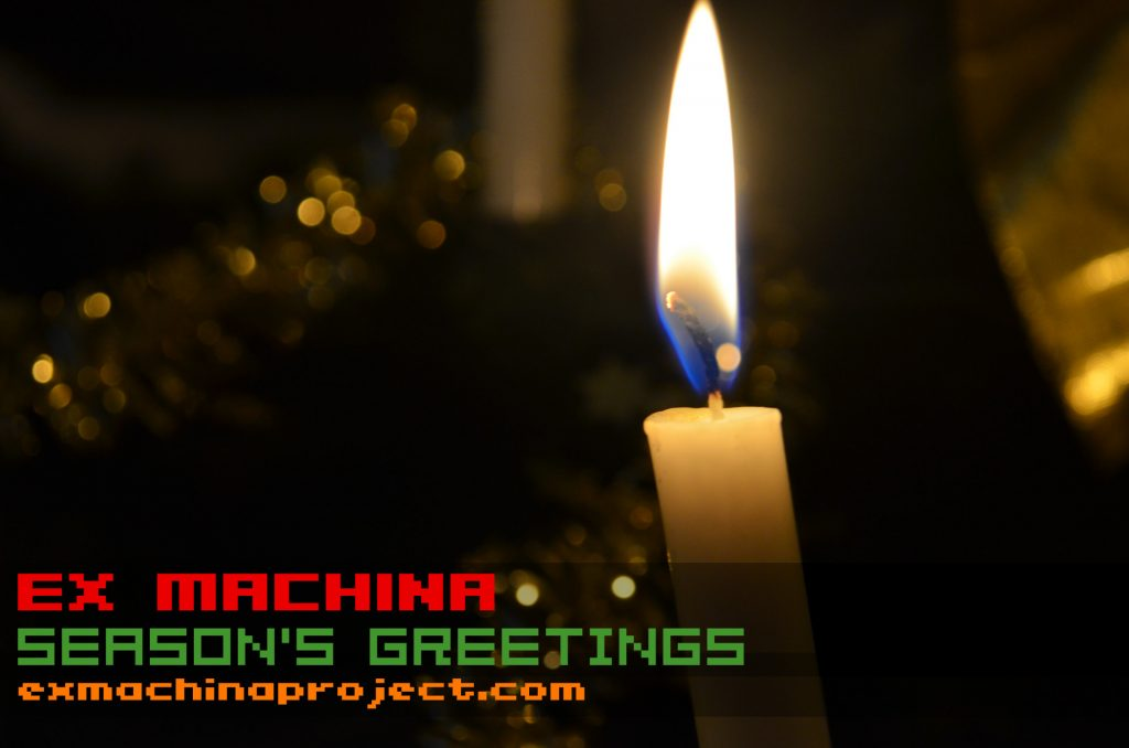 ex machina season's greetings 2017 from ex machina