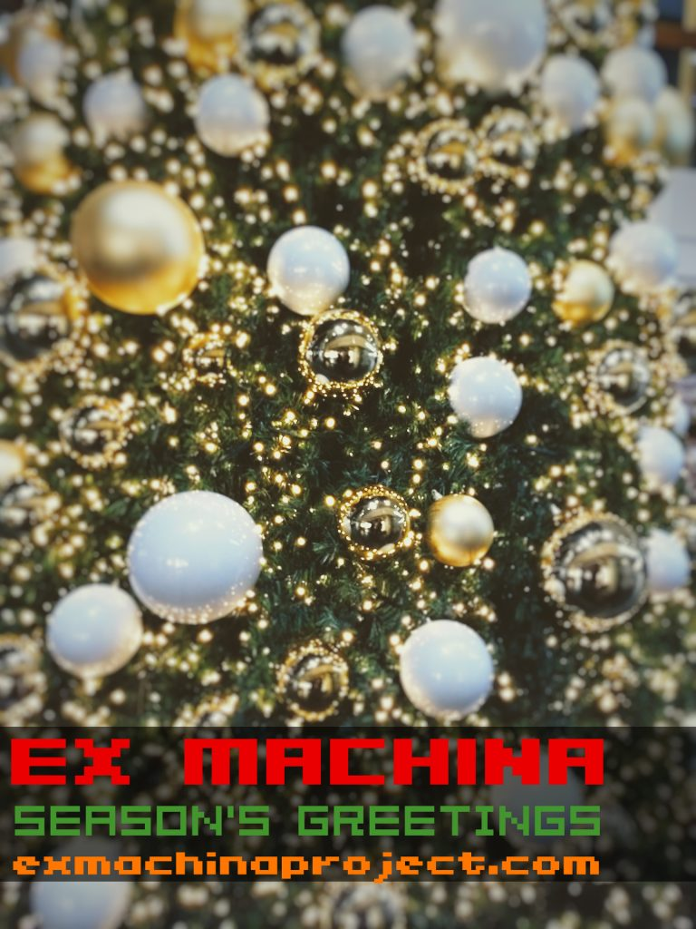 ex machina season's greetings 2018 from ex machina